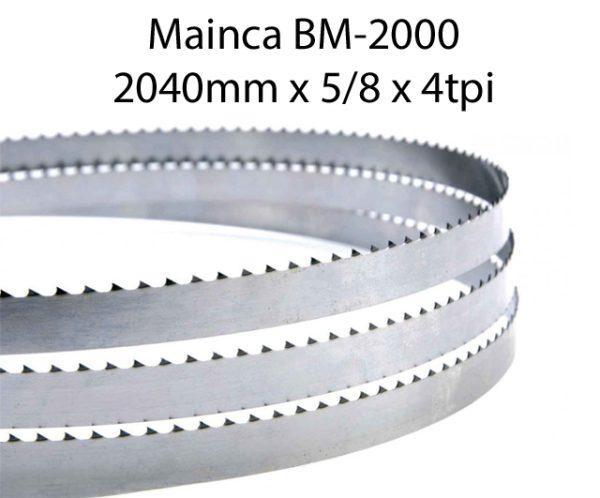 Edge Bandsaw Blades 2040 X 5/8 X 4TPI (pkt 5)|Bandsaw Blades|Barnco