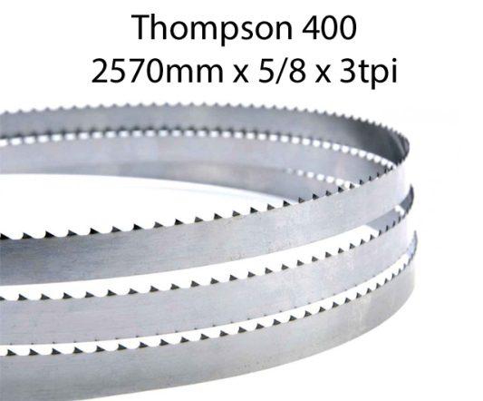 Bandsaw Blades - 2570 X 5/8 X 3TPI <br> (pkt 4)