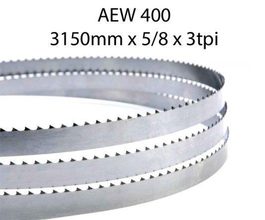 Bandsaw Blades - 3150 X 5/8 X 3TPI <br> (pkt 4)