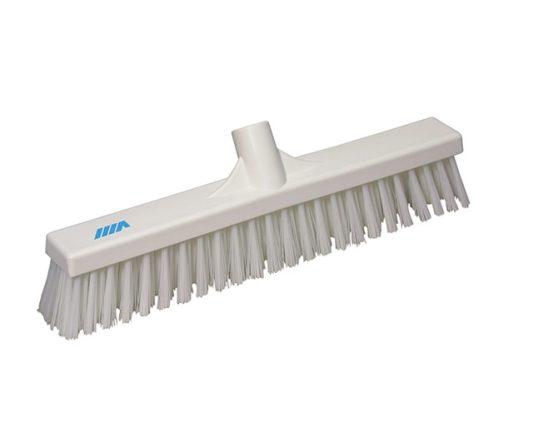 Floor Broom 410mm, Stiff & Soft