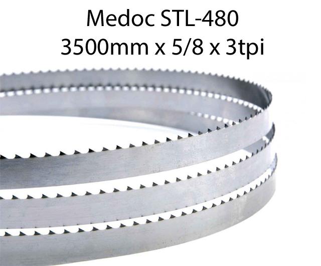 Bandsaw Blades - 3500 X 5/8 X 3TPI <br> (pkt 4)|Bandsaw Blades| Barnco
