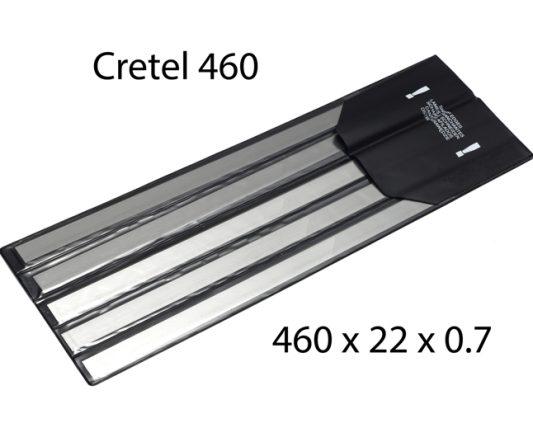 Cretel 460 X 22 X 0.7 <br> (pkt 5)|Derinder Blades|Barnco