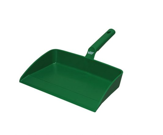 Dustpan 330 x 295mm (Green)|Brooms & Brushes|Barnco