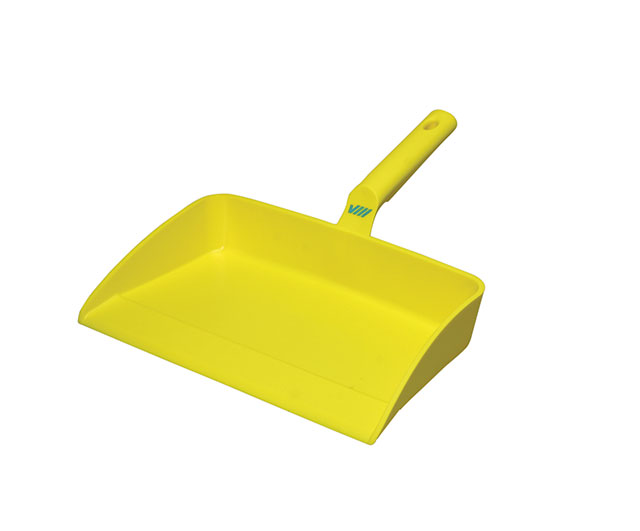Dustpan 330 x 295mm (Yellow)|Brooms & Brushes| Barnco
