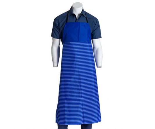 Nylon Apron Blue Stripped|Aprons|Barnco