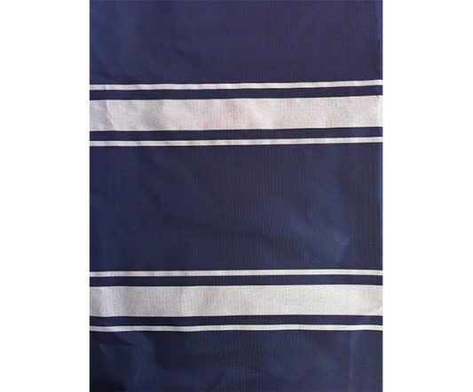 Nylon Apron Navy/White Bib