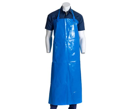 Plain Platilon Apron White