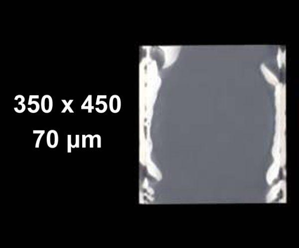 Caspak Pouches Clear 350 x 450 (pkt 100) Commercial Vacuum Bags Barnco