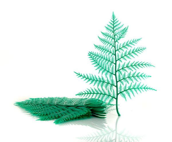 Plastic Display Ferns Green (doz.)|Window Display|Barnco