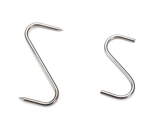 "S Hook Stainless Steel 6"" (Blunt)|Clearance Bucket| Barnco"