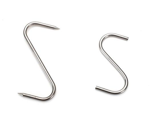 """S Hook Stainless Steel 4"""" (Blunt)"""