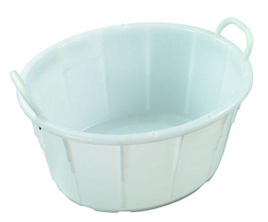 54L Oval Tub w/ Handles IH091