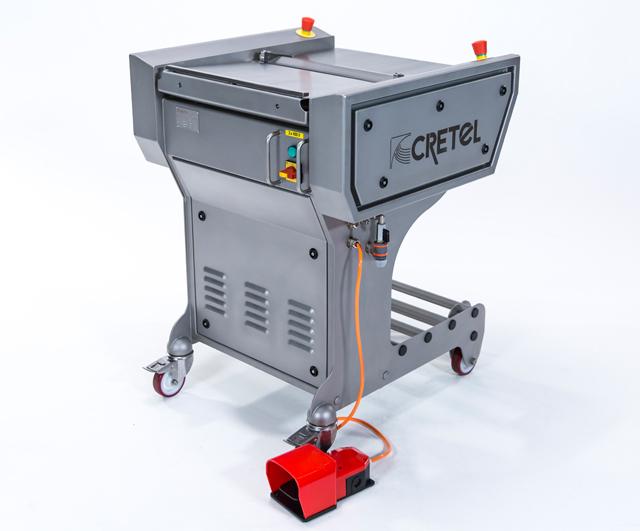 Cretel 460v fish skinning machine barnco sales for Fish skinner machine