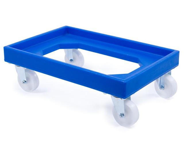 Trolley for Nally Crates Blue|Tub Trolleys| Barnco