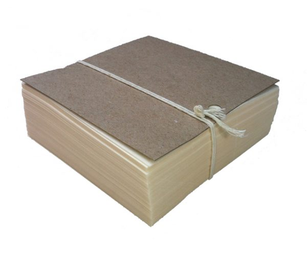 Waxed Nu-Ply Burger Paper - 5"