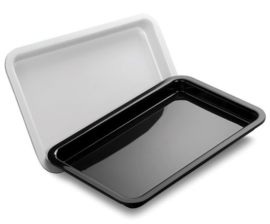MTA Tray 120 x 80 x 10mm Black|Display Trays|Barnco