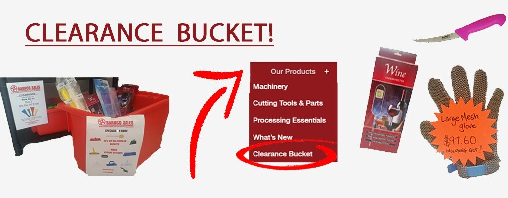 Clearance-Bucket