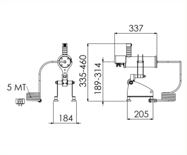 Andher ADT-80 Sausage Casing Spooler|Sausage Fillers| Barnco