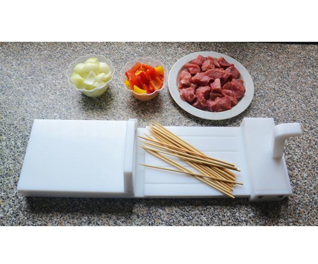 Crazy Souvle XEIR 110-150 Skewering Machine|Skewering & Kebabs| Barnco