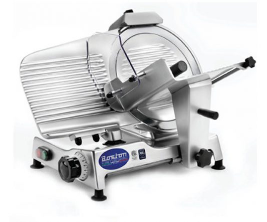 Boston Globus Gravity-Fed Slicer 250mm|Bench Top Slicers|Barnco