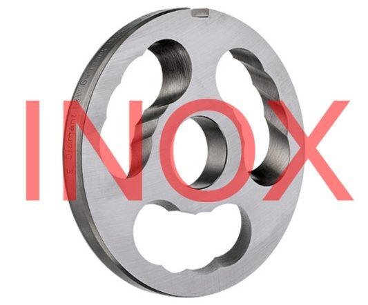 H82 L&W INOX 3 Hole Kidney Plate