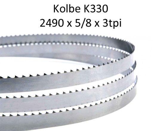 Bandsaw Blades - 2490 X 5/8 X 4TPI <br> (pkt 4)