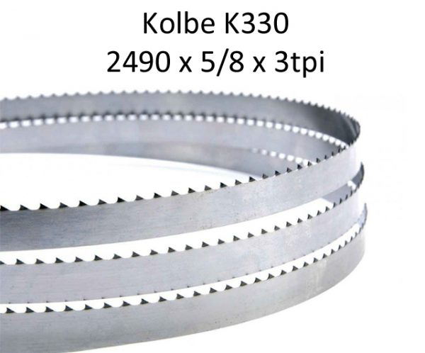 Edge Bandsaw Blades 2490 X 5/8 X 4TPI (pkt 5)|Bandsaw Blades|Barnco