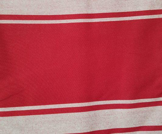 Apron Red & White Classic Bib|Aprons|Barnco
