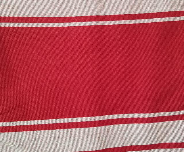 Apron Red & White Classic Bib Aprons  Barnco