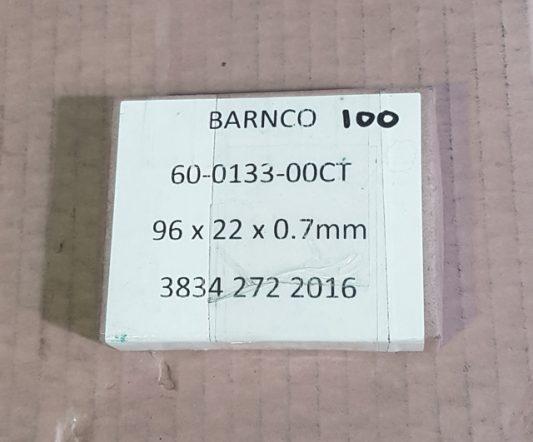 Best & Donovan 96 X 22 X 0.7 mm Blade (pkt 100)|Derinder Blades|Barnco