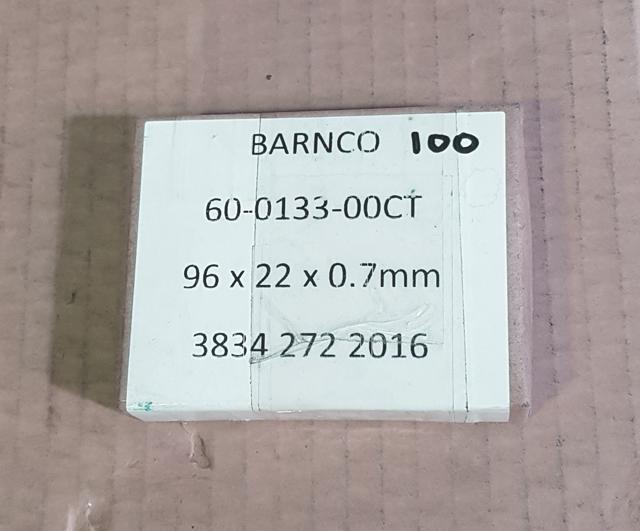 Best & Donovan 96 X 22 X 0.7 mm Blade (pkt 100) Skinner & Derinder Blades  Barnco