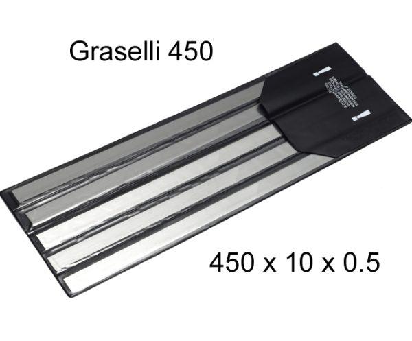 L&W Skinner Blade 450 X 10 X 0.5 (pkt 5)|Skinner & Derinder Blades|Barnco
