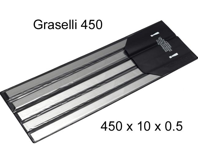 L&W Skinner Blade 450 X 10 X 0.5 (pkt 5)|Skinner & Derinder Blades| Barnco