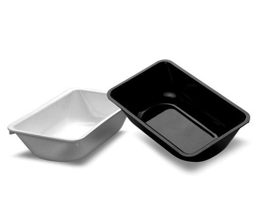 MTA Deli Dish 148 x 248 x 63mm White|Display Trays (MTA)|Barnco