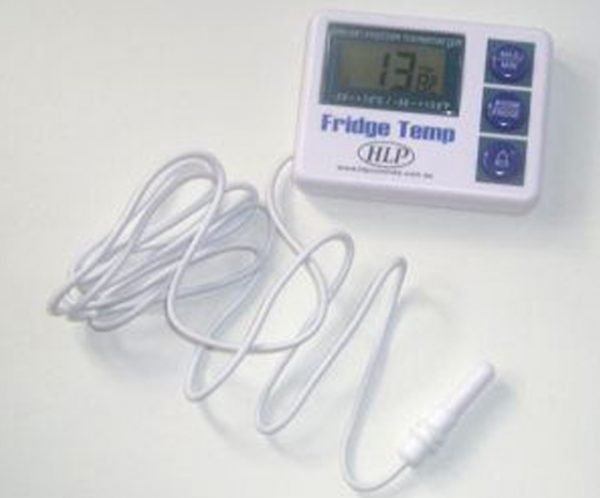 Fridge Temp Thermometer Thermometers Barnco