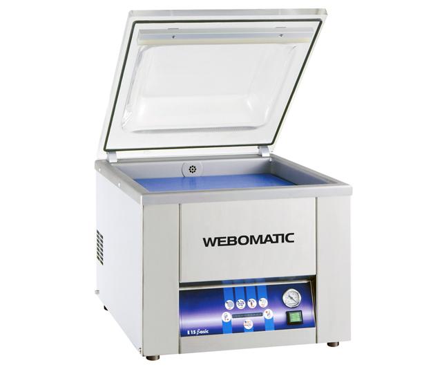 Webomatic E 15 Basic Vacuum Packer ***Clearance*** Clearance Bucket  Barnco