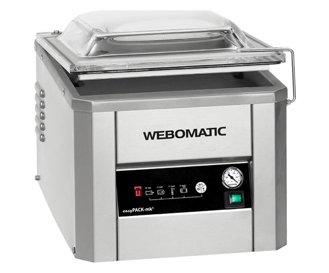 Webomatic easyPACK-mk3 Vacuum Packer ***Clearance***|Clearance Bucket| Barnco