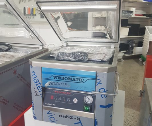 Webomatic easyPACK-mk3 Vacuum Packer ***Clearance***|Clearance Bucket|Barnco