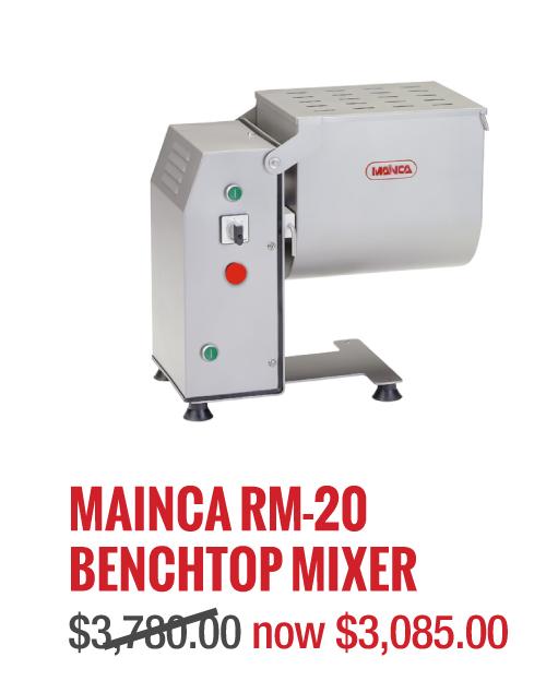 Mainca RM-20 Benchtop mixer